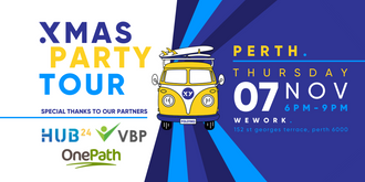 XMAS PARTY Tour Perth - 7th November