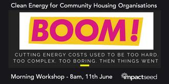 Clean Energy for Community Organisations Workshop