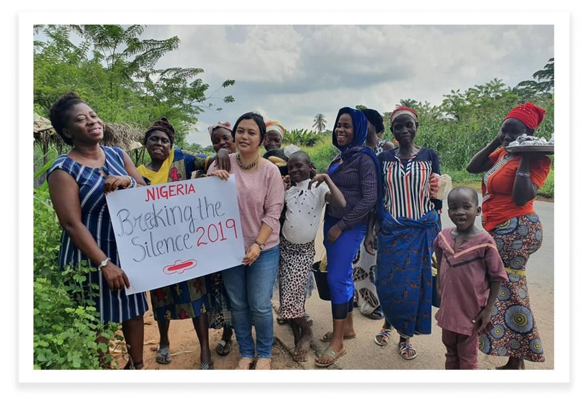 Olutosin Oladosu and Urmila Ch, Breaking the Silence