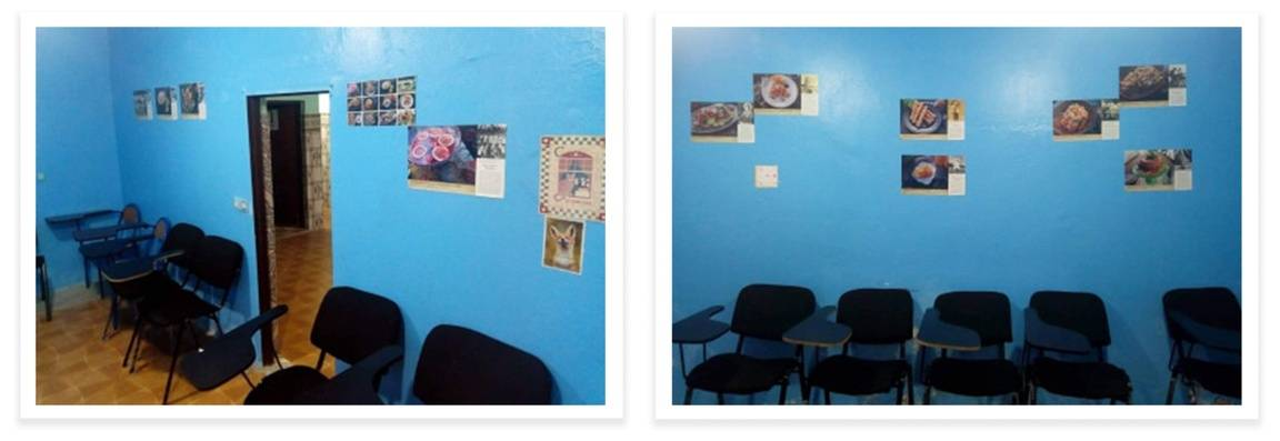 Aisha Boukhriss' English classroom