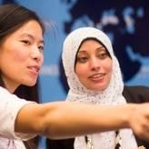 Two teachers help each other learn