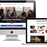 Website Design, Development, and Digital Strategy for PA CareerLink Philadelphia