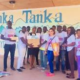Saint Foundation delivering medical supplies to Tanka Tanka Mentally Challenged Home in Gambia