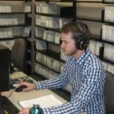 Studio Director at his workstation.