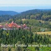 Aerial view of Odiyan Retreat Center