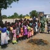 Children benefiting from Education in Emergency in South Sudan