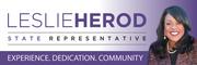 Logo of State Representative Leslie Herod
