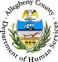 Logo of Allegheny County Department of Human Services (DHS)