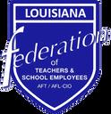 Logo of Louisiana Federation of Teachers and School Employees