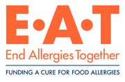 Logo of End Allergies Together (EAT)
