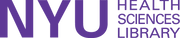 Logo de NYU Health Sciences Library at NYU Langone Health