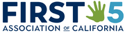 Logo of First 5 Association of California
