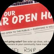 Good Idea: Teach Your Neighbors about Solar Power