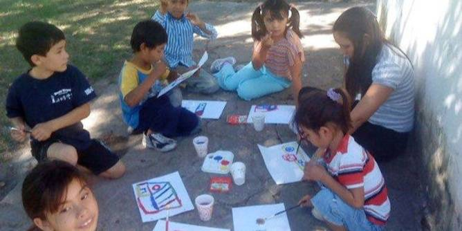 Providing care and activities for children in San Jose