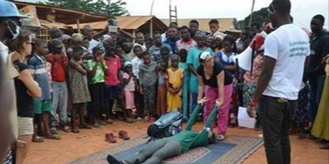 First Aid awareness and training program in Togo
