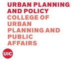 Logo of University of Illinois at Chicago - Department of Urban Planning and Policy