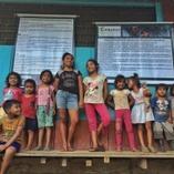 Kids in a rural community in Loreto, Peru