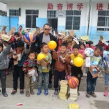 Playground equipment given in Longfu Township
