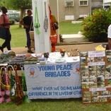 Taking part in United Nations Volunteers Exhibitors programme