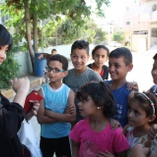 Volunteer with the Palestinian Refugees