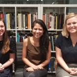 Summer 2018 Intern Class: Rowan, Trushaa, and Monica
