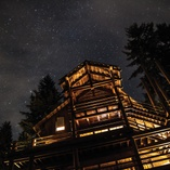 Lodge against the stars