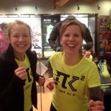 """Runners at Pi Day """"Pi K"""" Fun Run"""