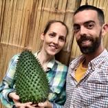 Giant Soursop (AnnonaMuricata) made in Ecuador  we at PermaTree produce enormous 100% organic