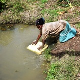 Current source of water in Rural Areas