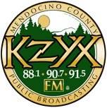 Logo of KZYX Mendocino County Public Broadcasting