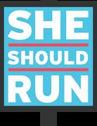 Logo of She Should Run