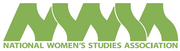 Logo of National Women's Studies Association