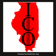 Logo of Illinois Council of Orchestras