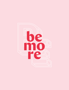Logo of Be More Campaign