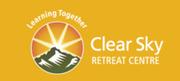 Logo of Clear Sky Retreat Centre