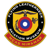 Logo of Flying Leatherneck Aviation Museum and Historical Foundation