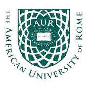 Logo of The American University of Rome