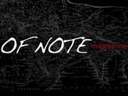 Logo of OF NOTE Magazine