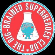 Logo of The Big-Brained Superheroes Club