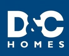 D&C Homes logo