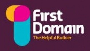 First Domain logo