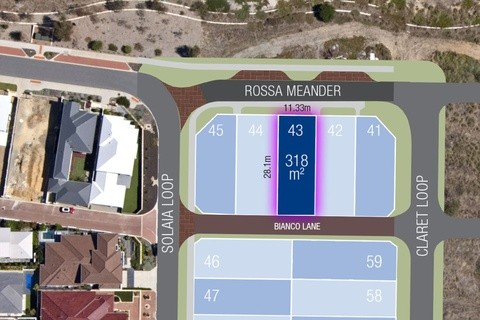 Lot 43 Rosso Meander WOODVALE WA 6026