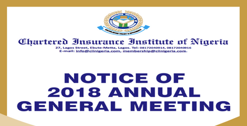 NOTICE OF 2018 ANNUAL GENERAL MEETING