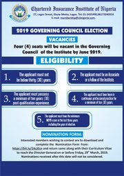 2019 GOVERNING COUNCIL ELECTION