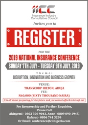2019 NATIONAL INSURANCE CONFERENCE