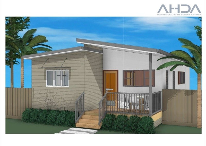 Single storey GF3002 Granny Flat by Architectural House Designs Australia