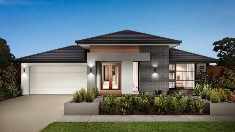 Single storey Florence 22 House by Varaich Homes