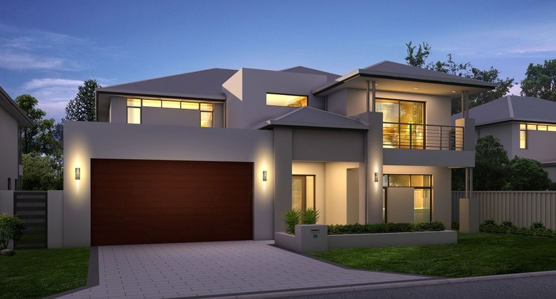 Double storey Modern House by Great Living Homes