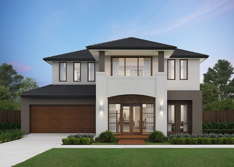 Double storey Cosmo 224 House by Omnia Homes