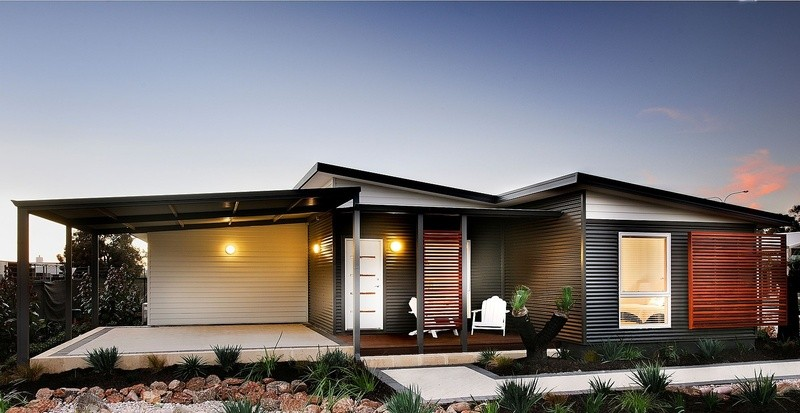 Single storey The Echo Beach House by TR Homes